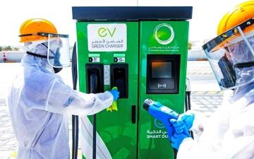 الصورة: الصورة: «كهرباء دبي» جهود مستمرة للقضاء  على «كوفيد 19»