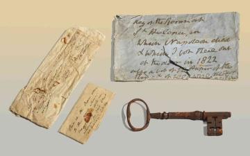 الصورة: الصورة: مفتاح زنزانة نابليون بـ 92 ألف يورو