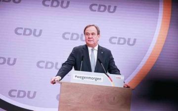 الصورة: الصورة: بعد أكثر من 20 عاماً «حزب ميركل» يرأسه رجل