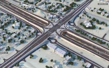 الصورة: الصورة: بلدية أبوظبي تنفذ مشروع جسر يربط بين شرق وغرب بني ياس
