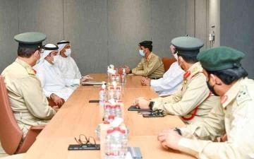 الصورة: الصورة: «شرطة ومالية دبي» تبحثان تعزيز التعاون المشترك