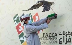الصورة: الصورة: «أبطال المستقبل» مسك ختام فزاع للصيد بالصقور