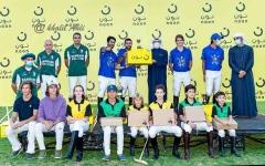الصورة: الصورة: العبار يتوّج  فريق بن دري أبطال كأس نون للبولو 2021