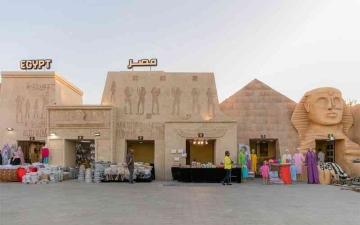 الصورة: الصورة: حضارتا وادي النيل تتألقان في مهرجان الشيخ زايد