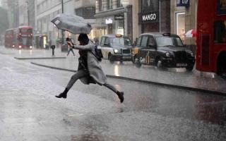 الصورة: الصورة: تحذير في بريطانيا من فيضانات وسط توقعات بهطول أمطار غزيرة