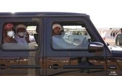 الصورة: الصورة: حمدان بن محمد يشهد تحديات الحقايق في مهرجان الهجن