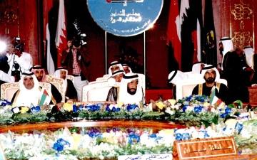 الصورة: الصورة: مجلس التعاون كما أراده زايد.. رفاهية للشعوب وتنمية للأوطان ودرع للعرب