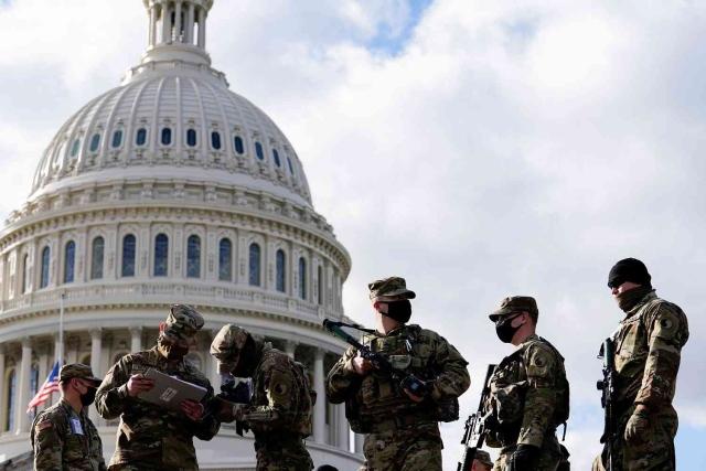 صورة إغلاق مجمع الكونغرس الأمريكي مؤقتاً بسبب حريق – العرب والعالم – العالم