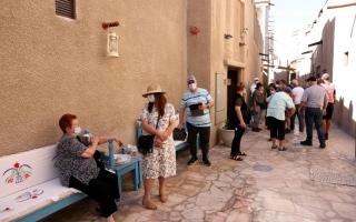 الصورة: الصورة: دبي وجهة آمنة  للهاربين من تدابير الإغلاق في العالم
