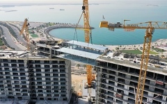 الصورة: الصورة: رأس الخيمة تدشن أطول جسر معلق في الإمارات الشمالية