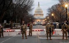 الصورة: الصورة: واشنطن حصن منيع قبل تنصيب بايدن رئيساً