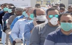 الصورة: الصورة: الكويت .. 5 آلاف مقيم دخلوا في غرامات انتهاء الإقامات