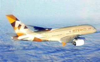 الصورة: الصورة: الاتحاد للطيران من أوائل الشركات العالمية في إطلاق ترافل باس من أياتا