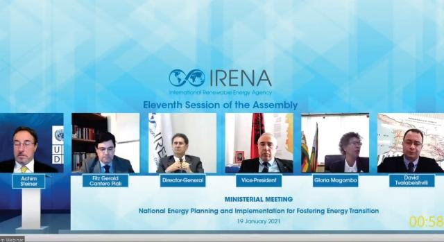 عمومية «آيرينا» تبحث تحولات الطاقة والتعافي
