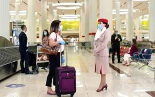 الصورة: الصورة: 558 ألف مقعد مجدول عبر مطارات الإمارات في أسبوع