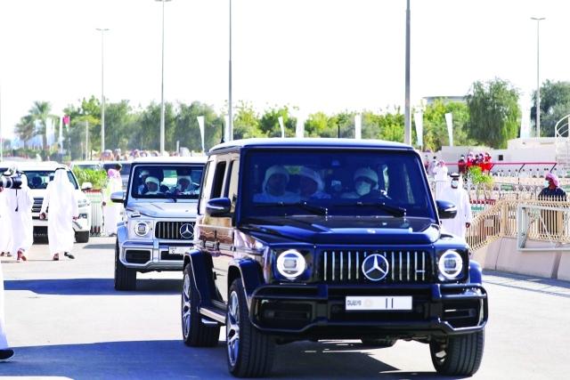 حمدان بن محمد يشهد تألق الشعارات في تحديات رموز اليذاع