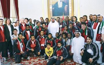 الصورة: الصورة: الكرة الإماراتية.. 50 سنة مضيئة