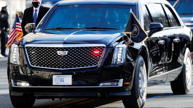 صورة الوحش .. سيارة بايدن مضادة للمفرقعات والأسلحة الكيماوية – منوعات