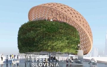الصورة: الصورة: سلوفينيا تتسلم جناحها في «اكسبو» هذا الأسبوع