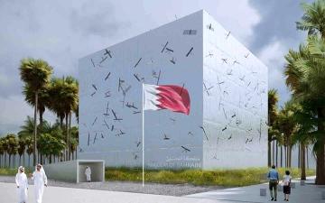الصورة: الصورة: جناح البحرين.. محاكاة التركيبة الحضرية