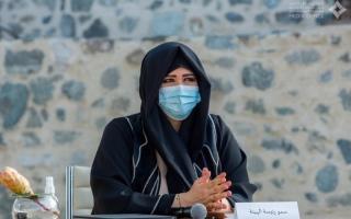 """لطيفة بنت محمد تترأس اجتماع قيادات """"دبي للثقافة"""" في حتّا"""