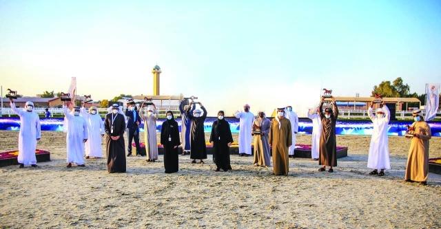 336 جواداً في «الإمارات لمربي الخيول» بالعين