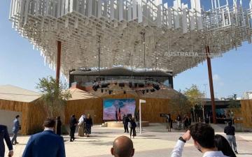 الصورة: الصورة: أستراليا تحتفل باكتمال جناحها في إكسبو دبي