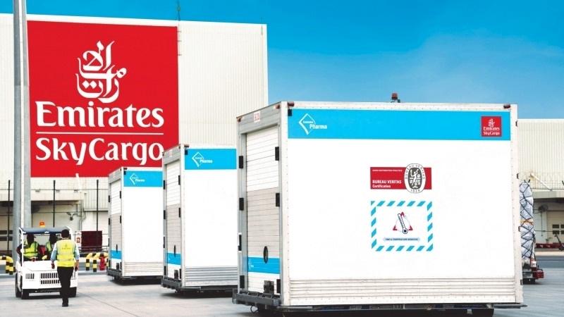 الصورة : «الإمارات للشحن» تضطلع بدور كبير في عمليات نقل اللقاح عالمياً | البيان