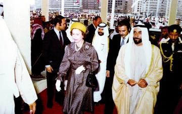الصورة: الصورة: الإمارات نموذج ملهم ومكانةجاذبة لزعماء العالم