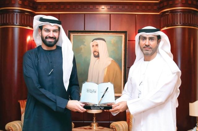 بحث التعاون بين «الإمارات للدراسات» و«الاتحادية للشباب»