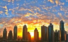 الصورة: الصورة: طقس الغد المتوقع في الإمارات