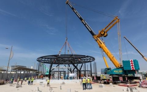 الصورة: الصورة: «ليوناردو» و«فالكون» تباشران تطوير مبنى للهليكوبتر لخدمة«إكسبو»