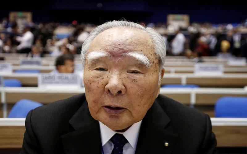 """الصورة: الصورة: رئيس مجلس إدارة """"سوزوكي"""" يتنحى عن منصبه"""