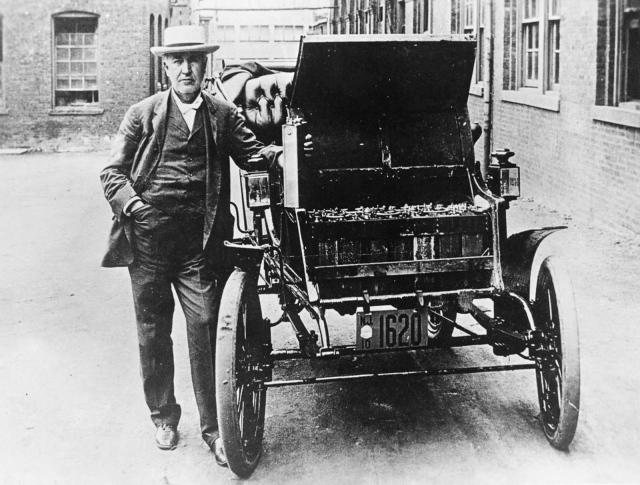 صورة بعد 120 عامًا.. خبراء السيارات الكهربائية يكتشفون فعالية بطارية توماس إديسون – ملاحق – سيارات البيان