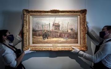 """الصورة: الصورة: شاهد.. لوحة فنية لـ """"فان غوخ"""" تظهر للعلن للمرة الأولى منذ قرن"""