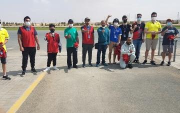 الصورة: الصورة: 12 طياراً في «دبي ماسترز» للطيران اللاسلكي الحر