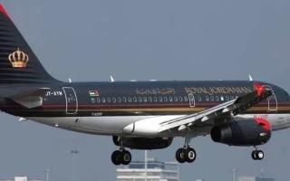 """الصورة: الصورة: """"جرس خاطئ"""" يتسبب بهبوط اضطراري لطائرة الملكية الأردنية"""
