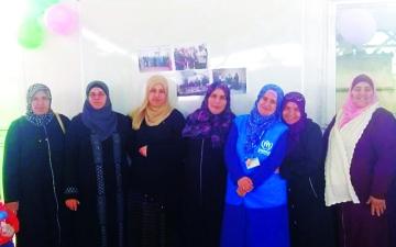 الصورة: الصورة: سوريات يتحدين واقع اللجوء بـ «صنع في الزعتري»