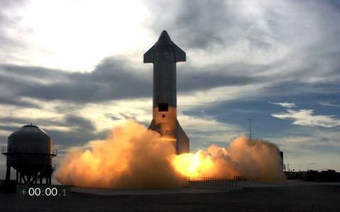 الصورة: الصورة: أمريكا.. نجاح نموذج أولي من صاروخ  فضائي