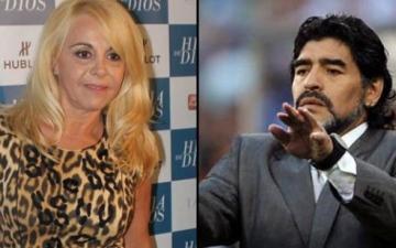 الصورة: الصورة: زوجة مارادونا السابقة تفجر مفاجأة بشأن وفاته