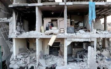 الصورة: الصورة: غوطة دمشق.. عالم أشباح ينتظر الماضي