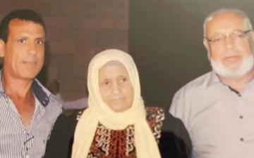 الصورة: الصورة: أم السبع.. تسعينية فلسطينية تنتصر على «كورونا»
