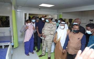الصورة: الصورة: الإمارات تشيّد مستشفى الشيخ محمد بن زايد الميداني في السودان