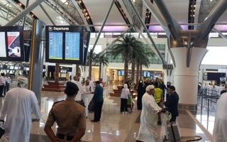 الصورة: الصورة: سلطنة عمان: انخفاض عدد المسافرين بنسبة 74.3% حتى نهاية ديسمبر الماضي