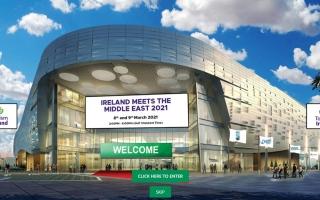الصورة: الصورة: آيرلندا تلتقي بالشرق الأوسط عبر النسخة الافتراضية الأولى من مؤتمرها التجاري