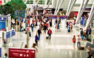 الصورة: الصورة: مطارات أمريكا تسجل أعلى نسبة مسافرين في عام