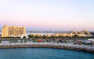 الصورة: الصورة: جزيرة المرجان أيقونة تجمع السياحة والترفيه والرياضة