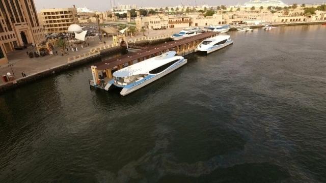 الترويج للنقل البحري بين دبي والشارقة