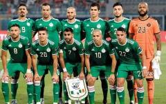 الصورة: الصورة: منتخب الجزائر بدون أساسييه أمام زامبيا في تصفيات الكان
