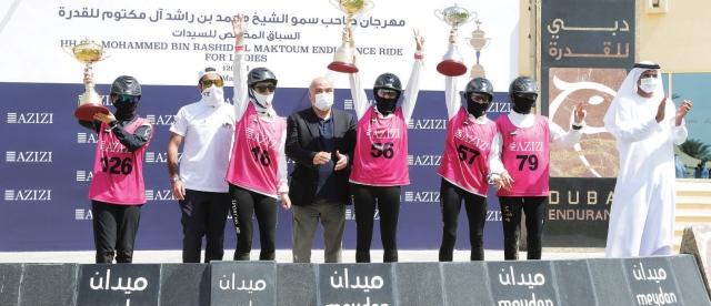ديلفينا تهدي «M7» أول ألقاب مهرجان محمد بن راشد للقدرة